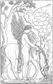 Bellerophon and Pegasus, SilverTownArt Greek Jewelry Shop