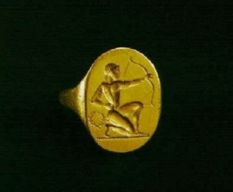 Mens Rings in Ancient Greece, Archer ring, SilverTownArt wordpress
