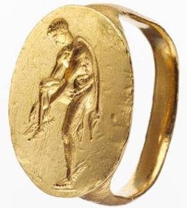 Mens rings in Ancient Greece, Hermes ring,SilverTownArt Greek Jewelry WordPress