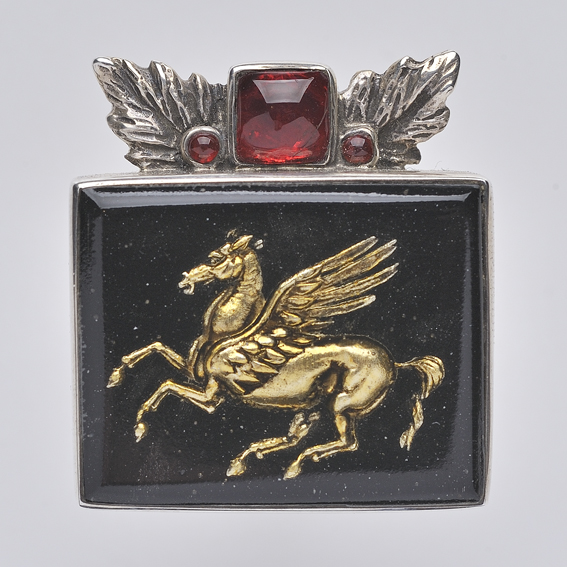 Pegasus Ring, SilverTownArt Greek Jewelry Shop